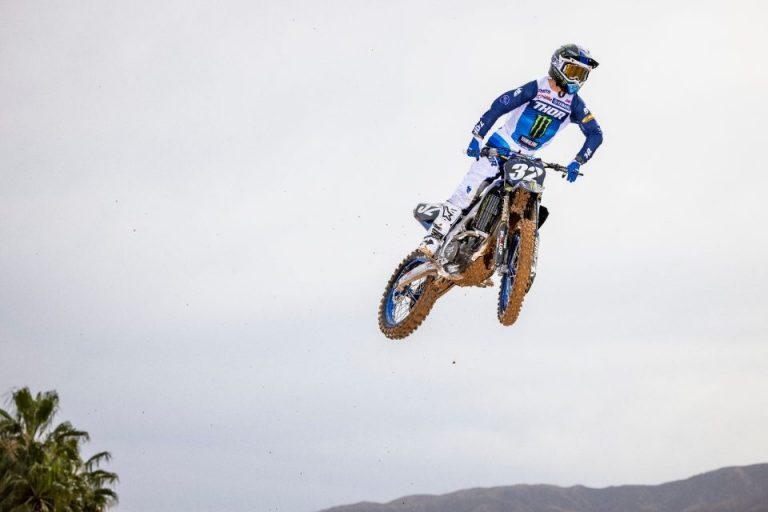 Justin Cooper е отново на мотора и то само три седмици след травма на крака