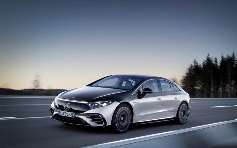 EQS: флагманът на луксозните електрически седани на Mercedes-Benz