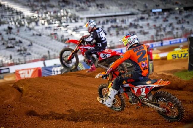 AMA Supercross: Мускен печели в Солт Лейк Сити 1, нова драма за Роксен