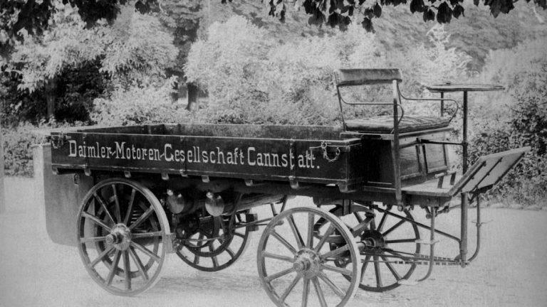 125 години от създаването на първия товарен автомобил