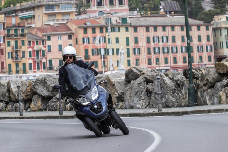 Piaggio с нова гама на триколката МР3