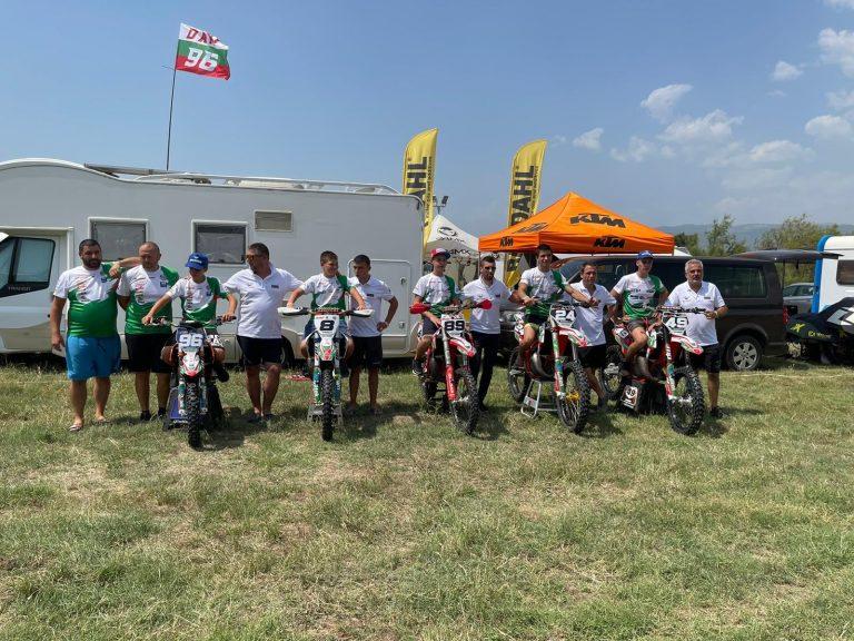 15 точки за Дани Цанков и първа точка за Мариос Канакис, а България е 9-та в отборното на FIM Junior Motocross World championship в Мегалополис