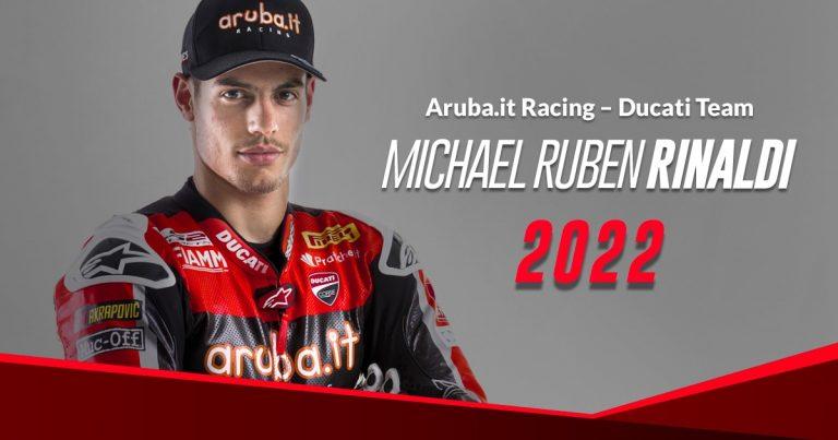 WorldSBK: Майкъл Рубен Риналди продължава с Aruba.it Racing – Ducati  през 2022 г. с Panigale V4 R