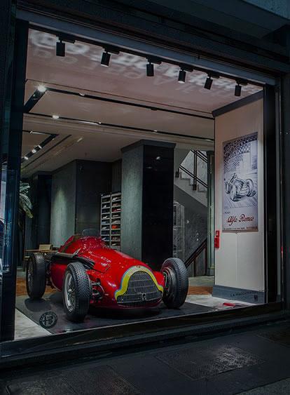 Alfa Romeo в центъра на италианската мода