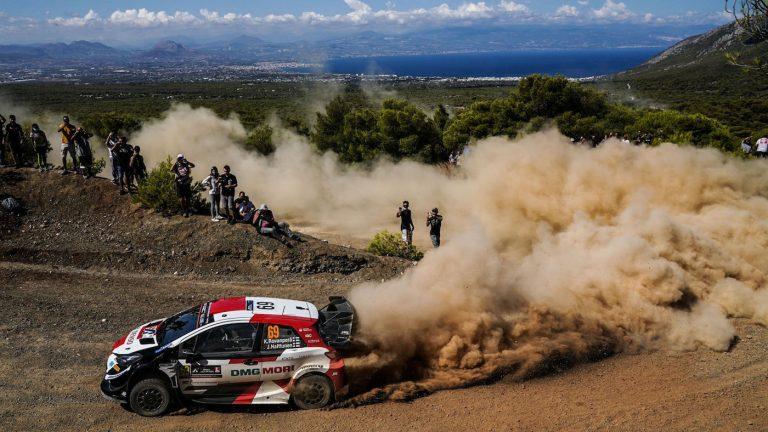 WRC: Кале Рованпера води след втория ден на рали Акрополис