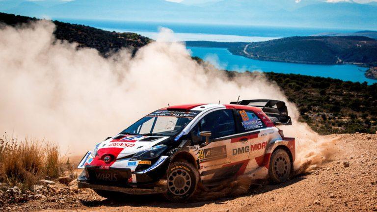 WRC: Кале Рованпера води с половин минута при дебюта си в гръцкото Акрополис