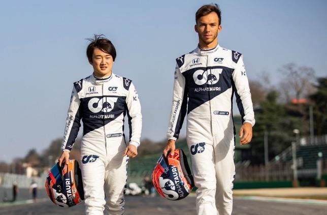 Формула 1:  Гасли и Цунода остават в AlphaTauri през 2022 г.