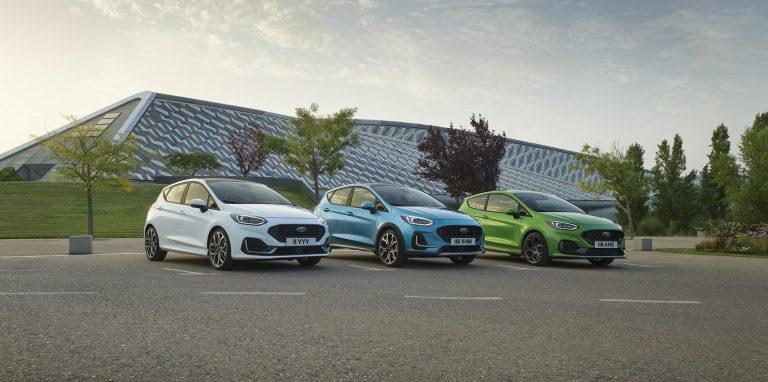Ford представя свързаната, електрифицирана и целеустремена нова Fiesta