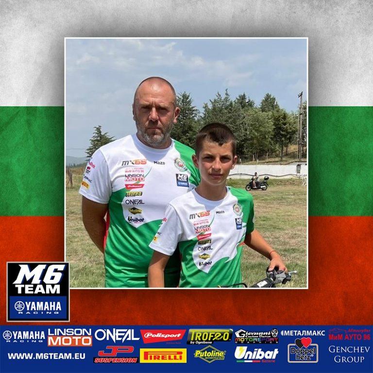 Дани Цанков с поглед към финала на европейското първенство по мотокрос в Италия